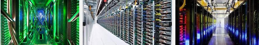 server rooms at google