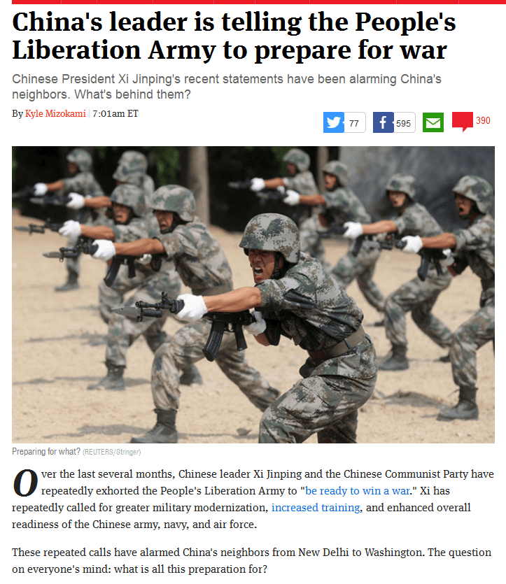 Dec22, the Week, China preps for war, why