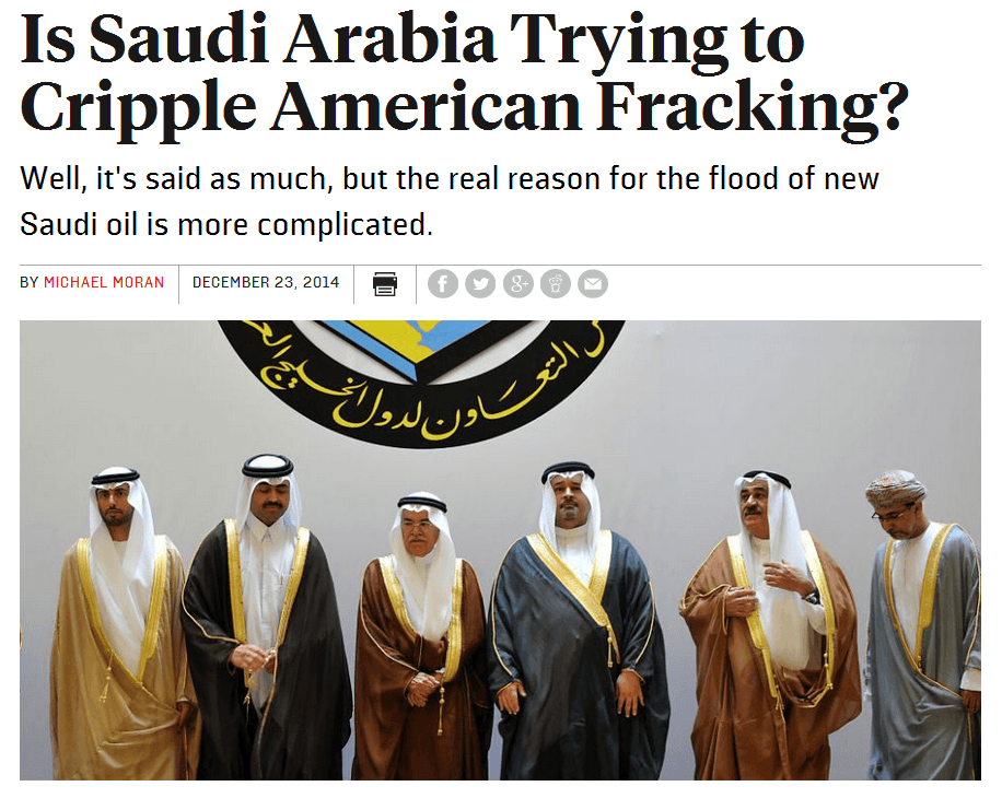 The Sauds and Saudi oil pricing strategy_Dec23,2014