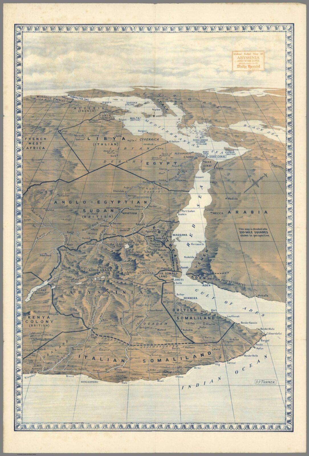 Horn of Africa 1938