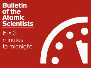 Bulletin of the Atomic Scientists - 3 Minutes to Midnight