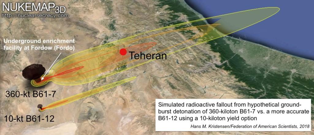 Tactical Nuke Fallout _Iran_FAS