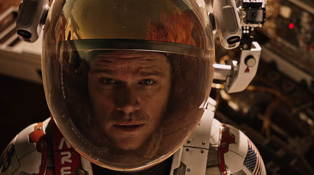 Martian astronaut