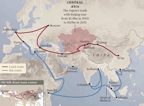 New Silk Road_IMF