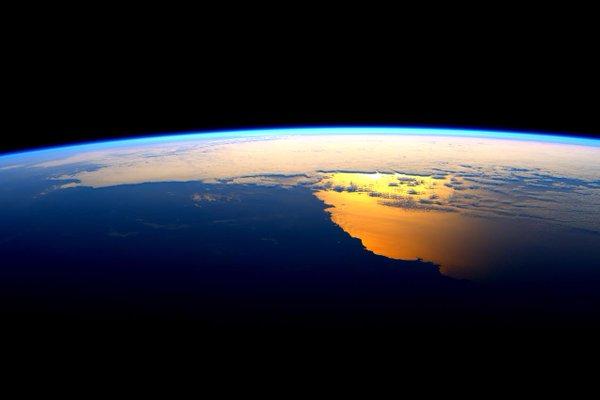 thin blue over australia