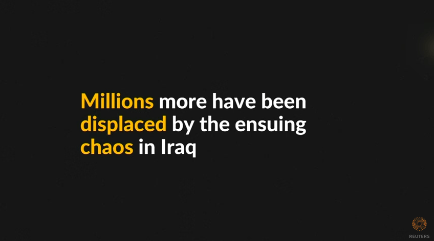 Millions displaced, hundreds of thousands killed